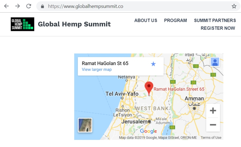 University of Melbourne, withdraw from Global Hemp Summit at Israeli settlement-based Ariel University